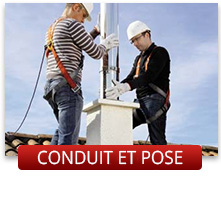 Conduits et pose