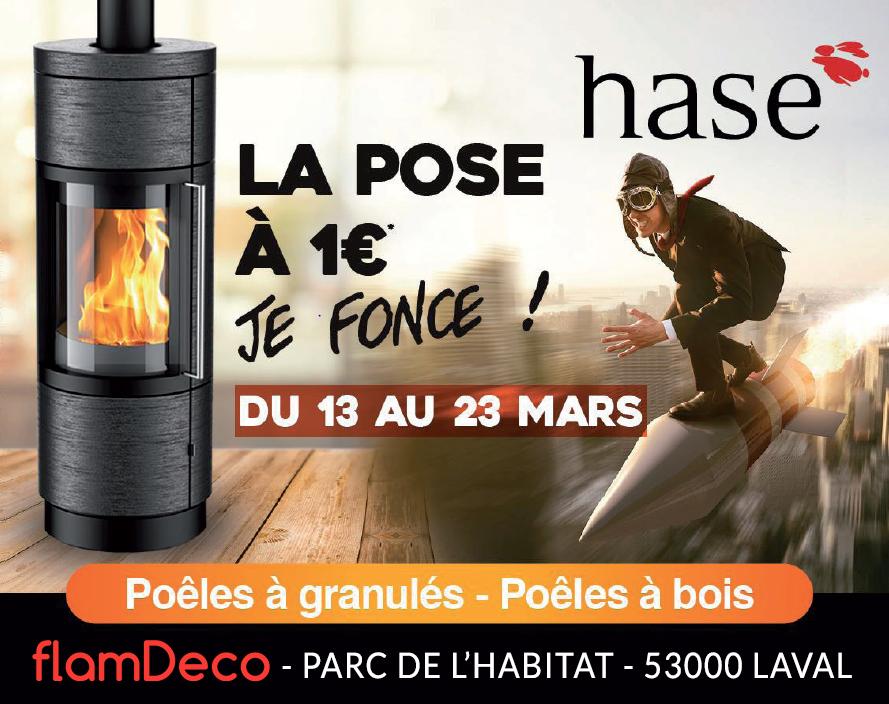 Hase pose à 1€ FlamDéco