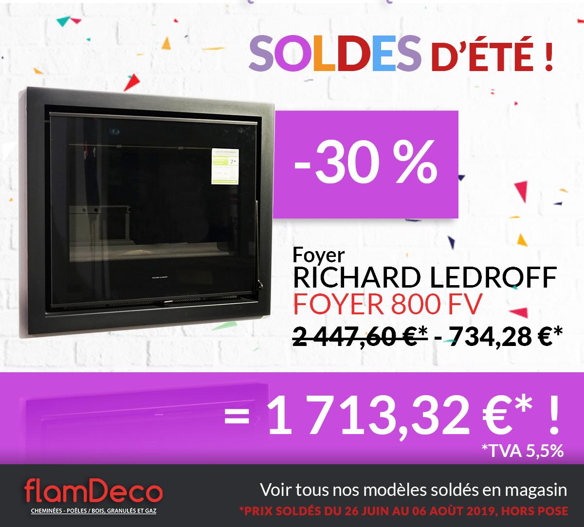 SOLDES 2019 cheminée Richard Ledroff