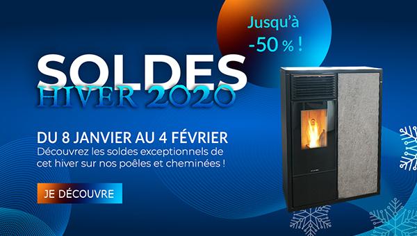Flamdéco Soldes hiver 2020 cheminées et poêles