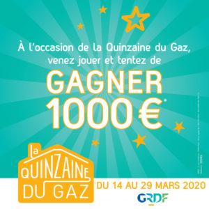 JEU Quinzaine du gaz 2020 Flamdeco