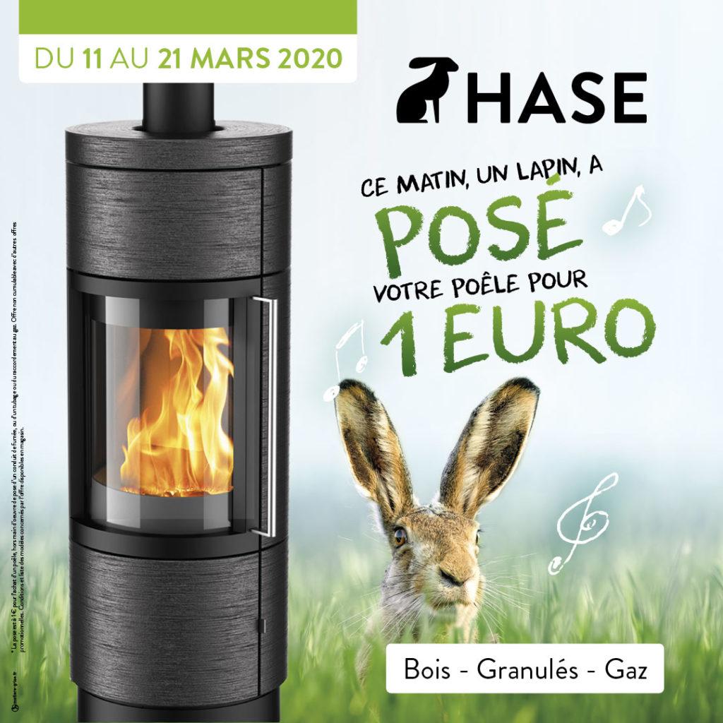 Hase, la pose à 1 Euro 2020