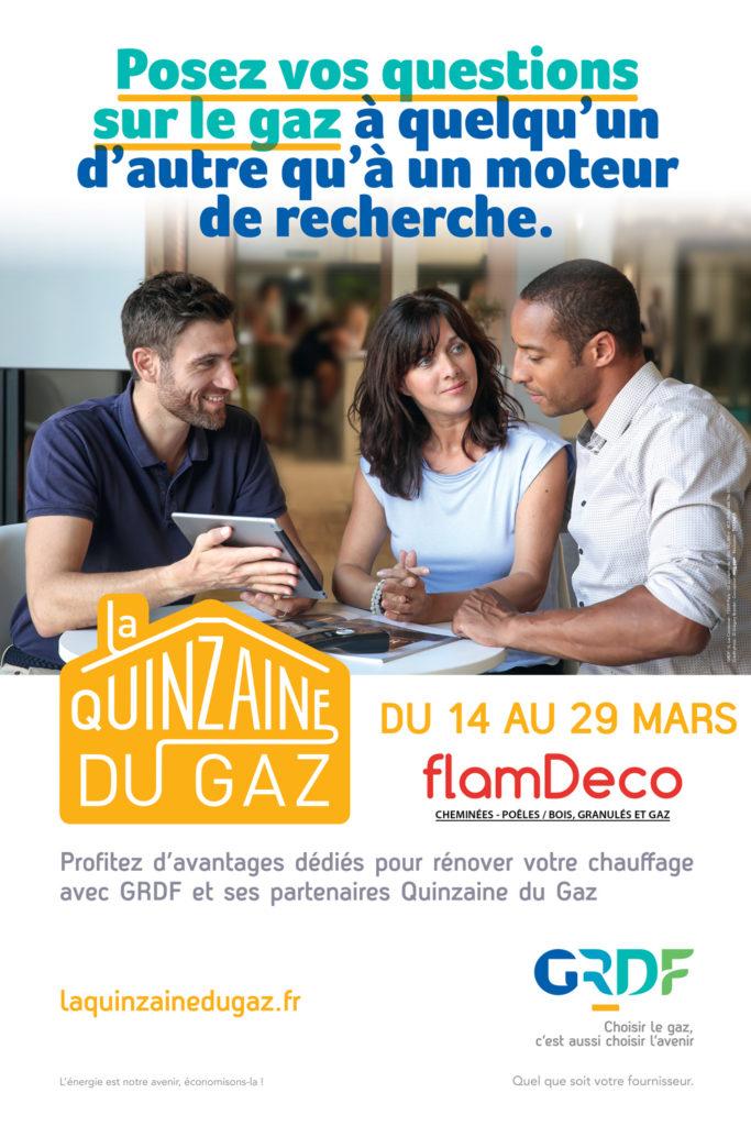 Quinzaine du gaz 2020 Flamdeco