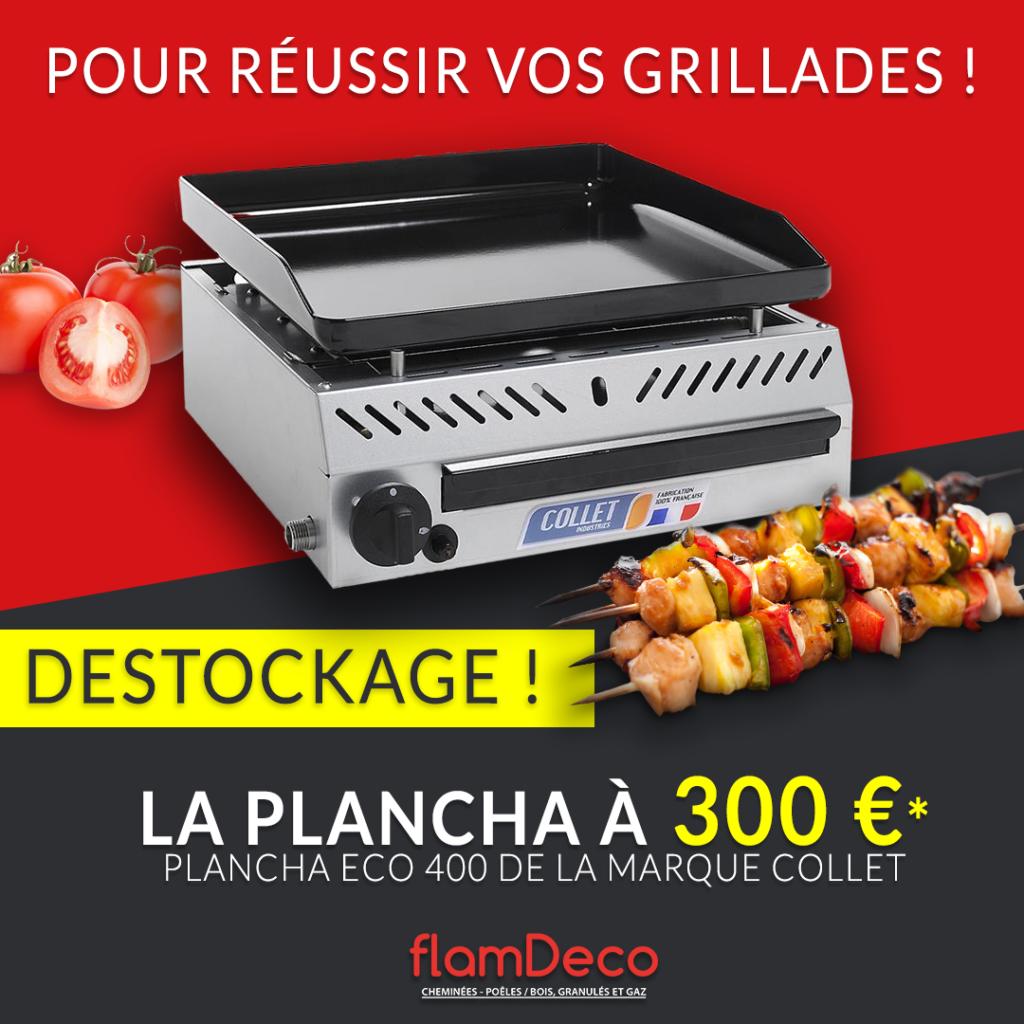 Plancha ECO 400