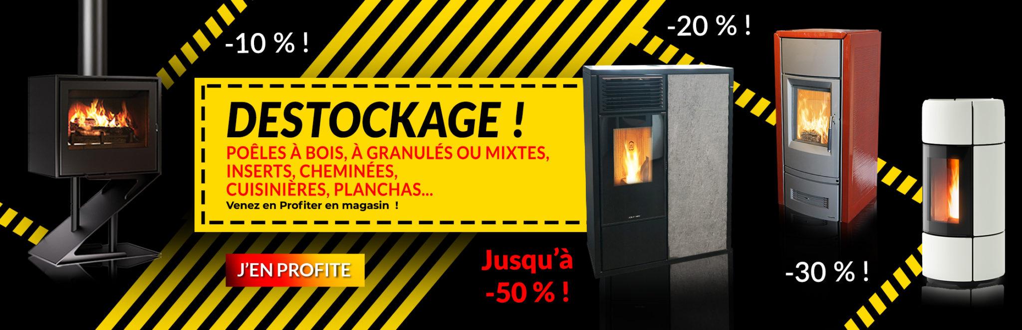 Destockage poêles et cheminées FlamDéco
