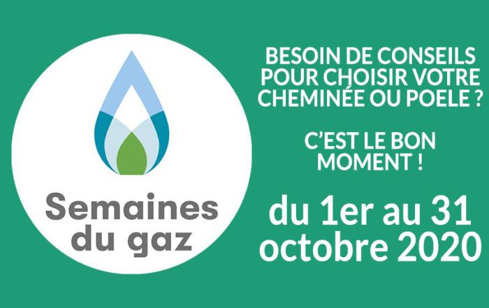 Les semaines du GAZ du 1er au 31 octobre 2020