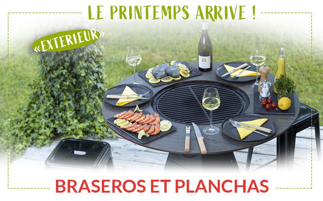 Braseros et Planchas FlamDéco