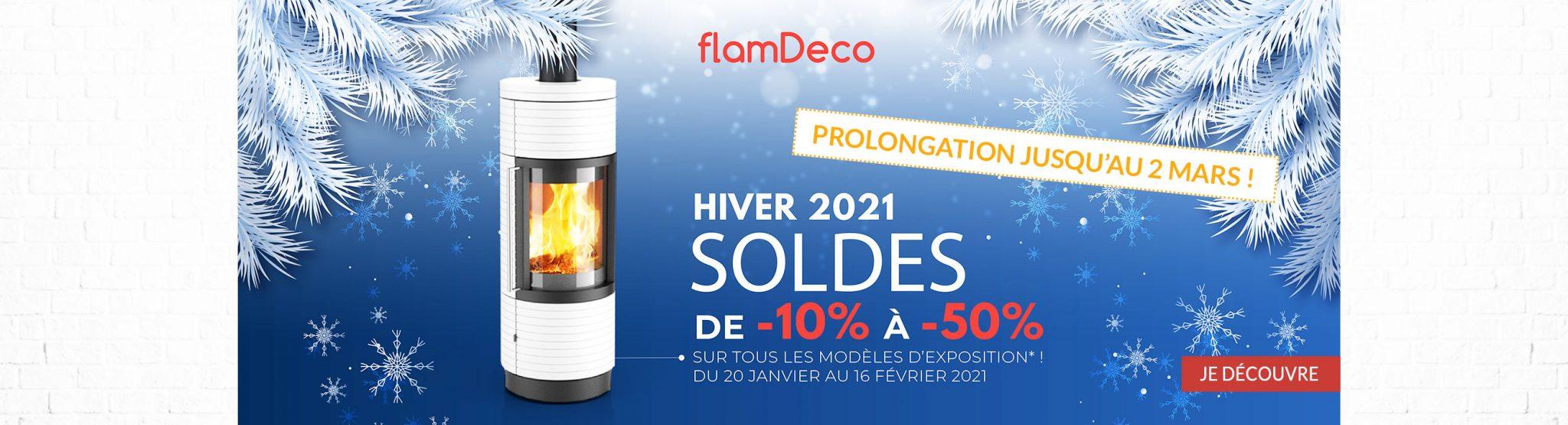 Soldes hiver 2021 FlamDéco